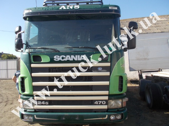 Кабіна Scania 124