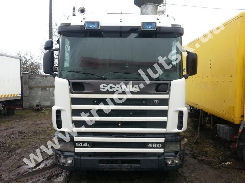 Кабіна Scania 144