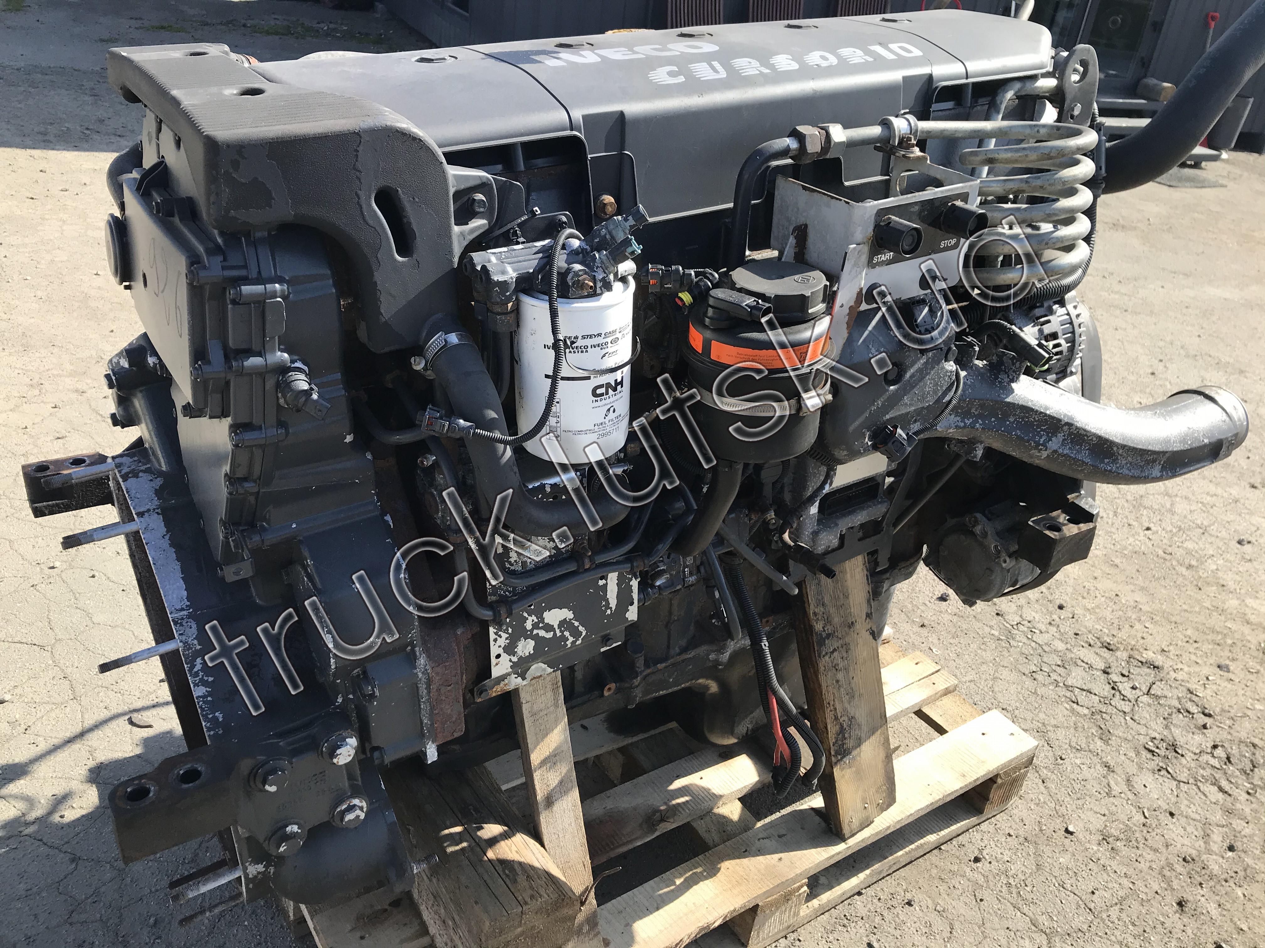 Двигун Iveco Stralis Cursor 10 Euro5 F3AE3681