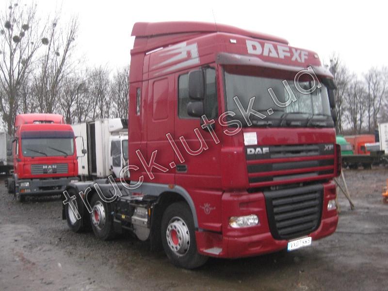 DAF XF105.460 по запчастинам 2008 р/в