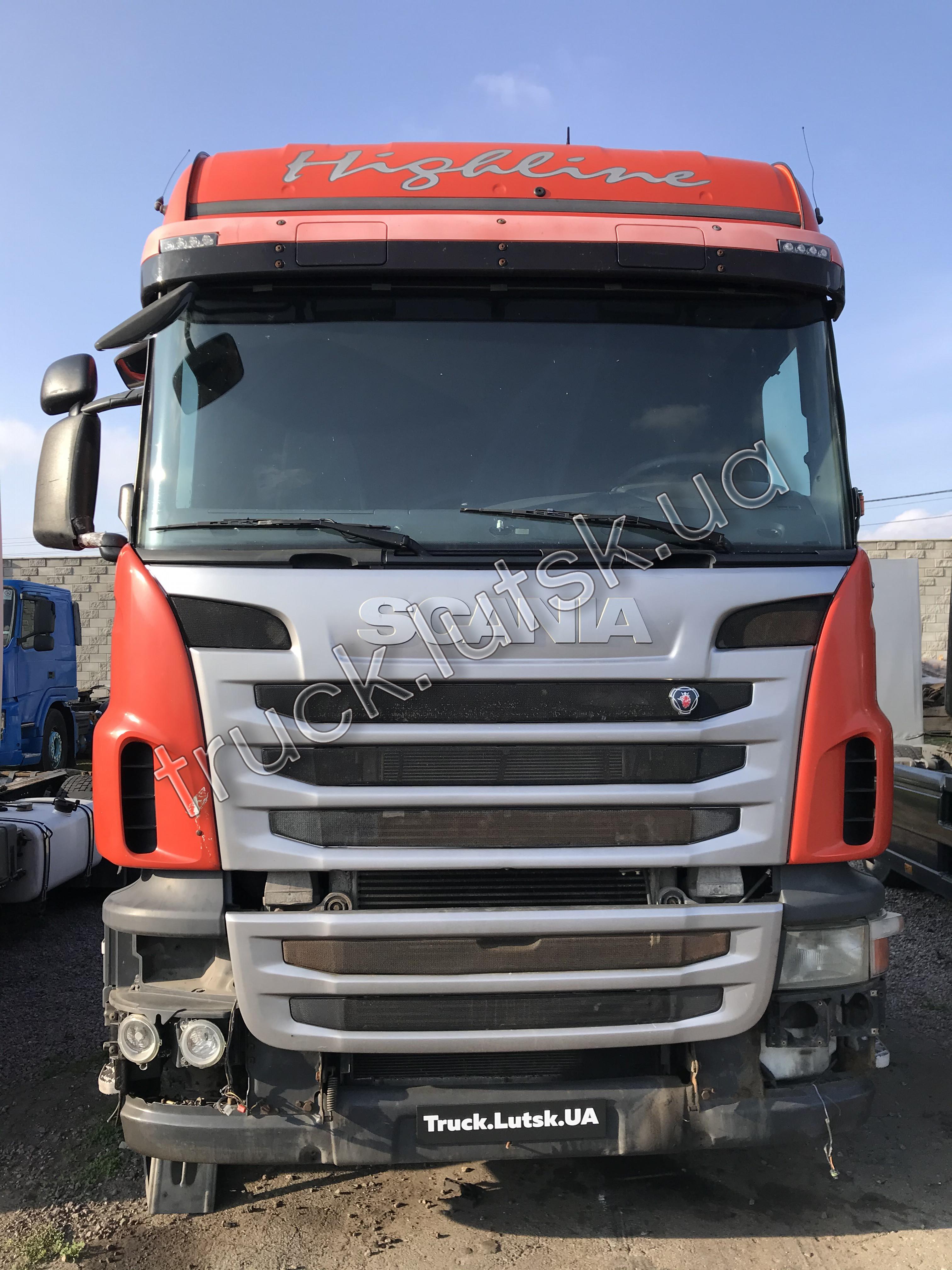 Кабіна Scania R