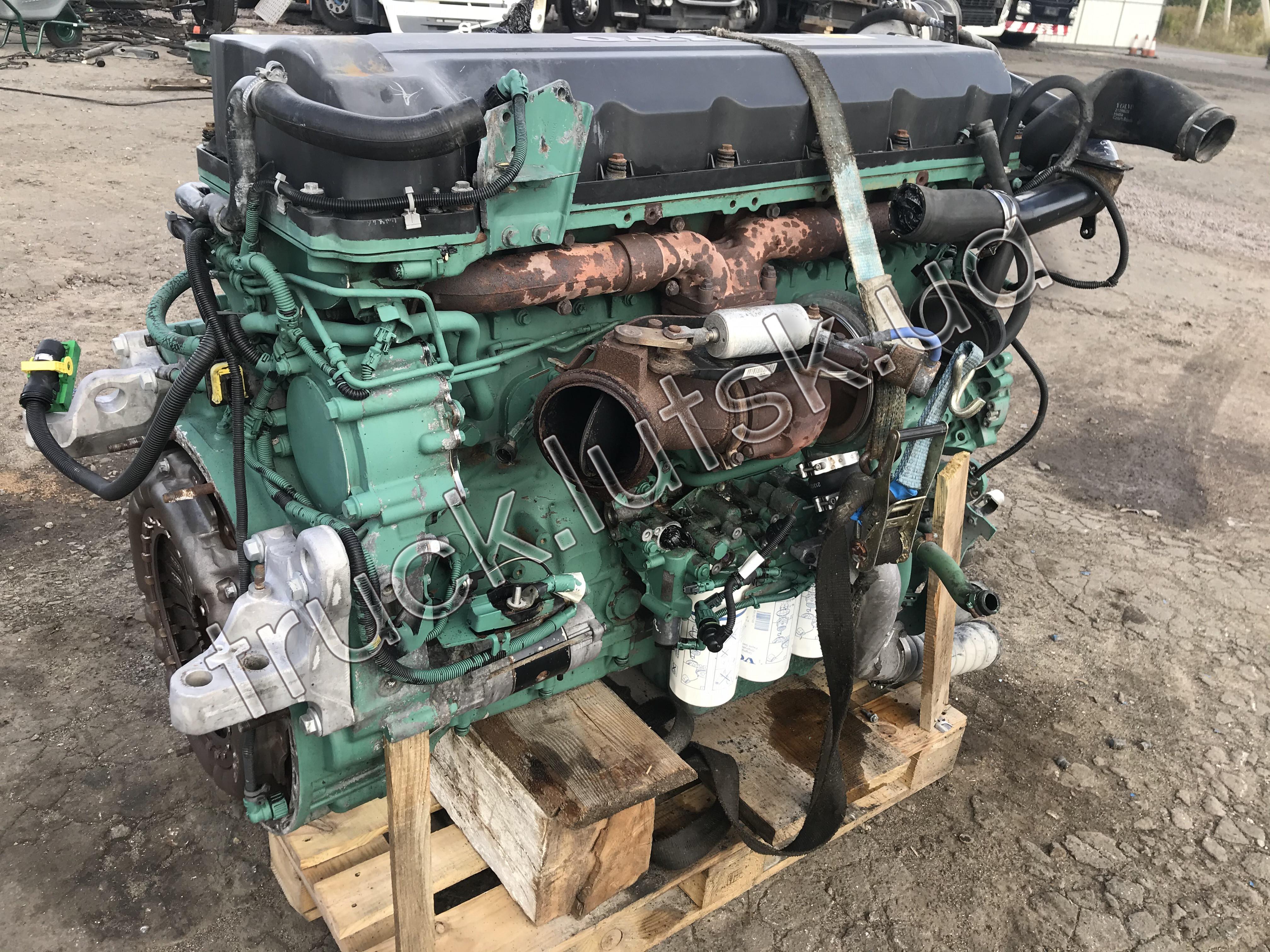 Двигун Volvo FH13 D13C EEV